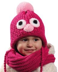 Dětská pletená čepice PLETEX - H055 53149af9be