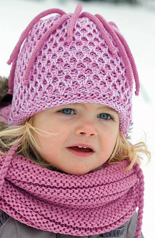 Dětská zimní čepice PLETEX - H097 fd8bac696c