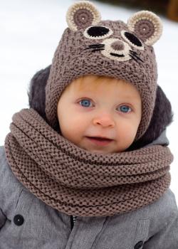 Dětská zimní čepice PLETEX - H098 3322ece9f9