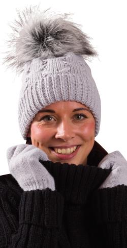 d77bc7d1549 Dámská   Dívčí zimní čepice PLETEX - L 445