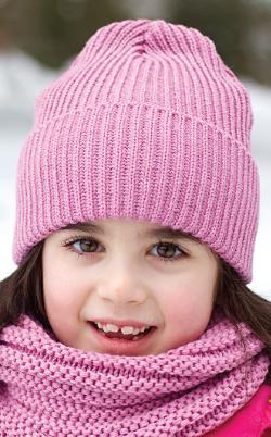 Dívčí   Dámská zimní čepice s lurexem PLETEX - P230 4dbb70f5a7
